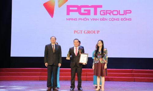 """PGT Group là 1 trong 10:  """"Nhà đầu tư và kinh doanh bất động sản xuất sắc"""""""