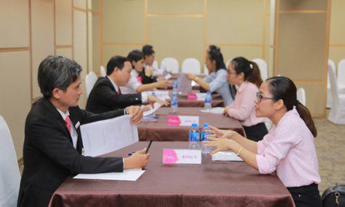 Sôi nổi và thiết thực Ngày hội tuyển dụng PGT Group