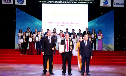 PGT Land lọt Top 10 Thương hiệu dẫn đầu Việt Nam 2018