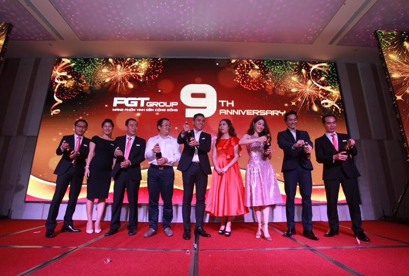 PGT Group kỷ niệm 9 năm thành lập