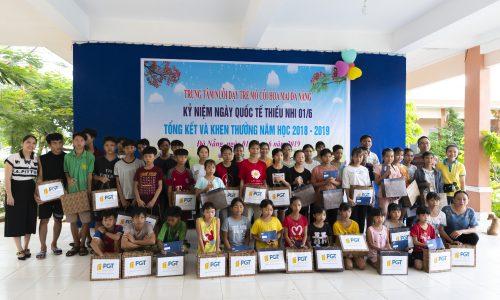 PGT Group tặng quà Tết thiếu nhi tại Trung tâm nuôi dưỡng trẻ mồ côi Hoa Mai