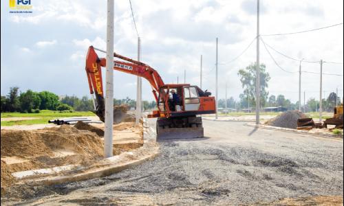 Thăm công trường Dự án KĐT Mỹ Gia – Cập nhật tiến độ đến tháng 9/2019